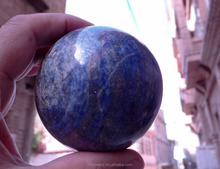hot sale natural lapis lazuli quartz crystal sphere ball healing for gifts from Afghanistan