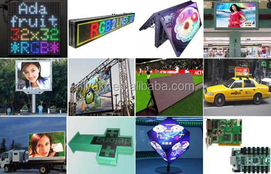 led taxi advertising, outdoor led taxi advertising display/car top roof light box advertising with magnetic base