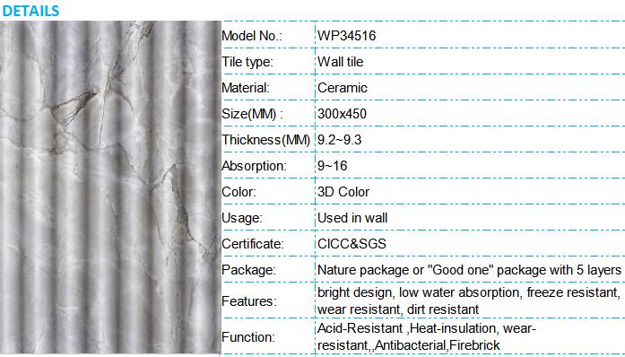 30x45cm Tiles Front Wall,Low Price Ceramic Tiles,3d Wall Tiles - Buy ...