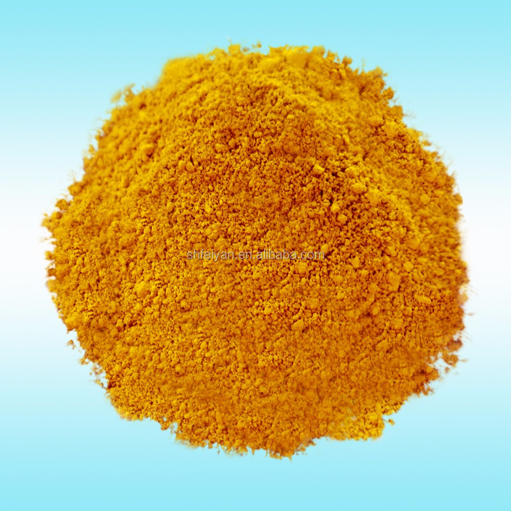 Plastic Coloring iron oxide yellow pigment for paving