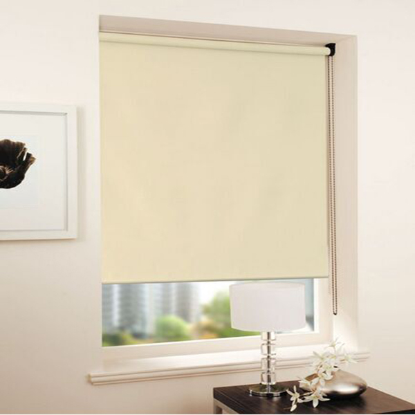 Waterproof full blackout roller blinds fabric curtains custom office bathroom electric shutter