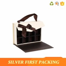Unique design luxury wedding invitations paper box