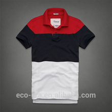 Bulk Wholesale Thick Polo Shirts Custom Striped Polo Free Sample