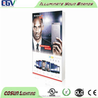 Backlit large size fabric advertising led photo frame display