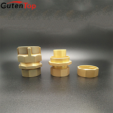 GutenTop China High Performance Brass Pipe Clamp Joints Male Threaded Nipple