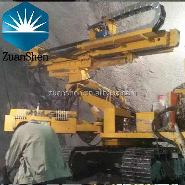 full hydraulic crawler type drill rig