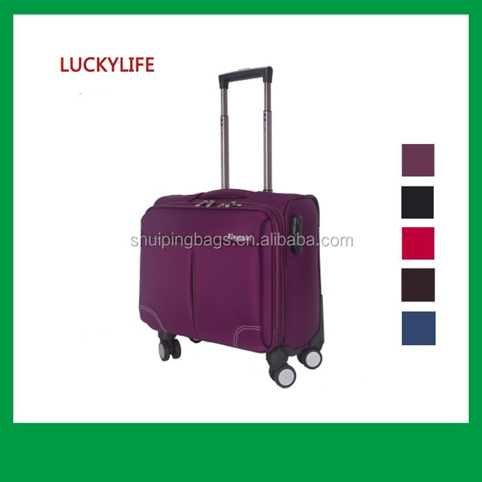 Fashion luggage with Universal Wheel 360 Degree supplied by listed company in China