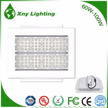 small power canopy led light two modules 60w aluminum led canopy light make in china
