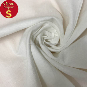 Hot sale tencel linen spandex fabric solid dyed fabric for shirt