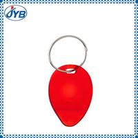 clear plastic acrylic lottery scratcher keychain