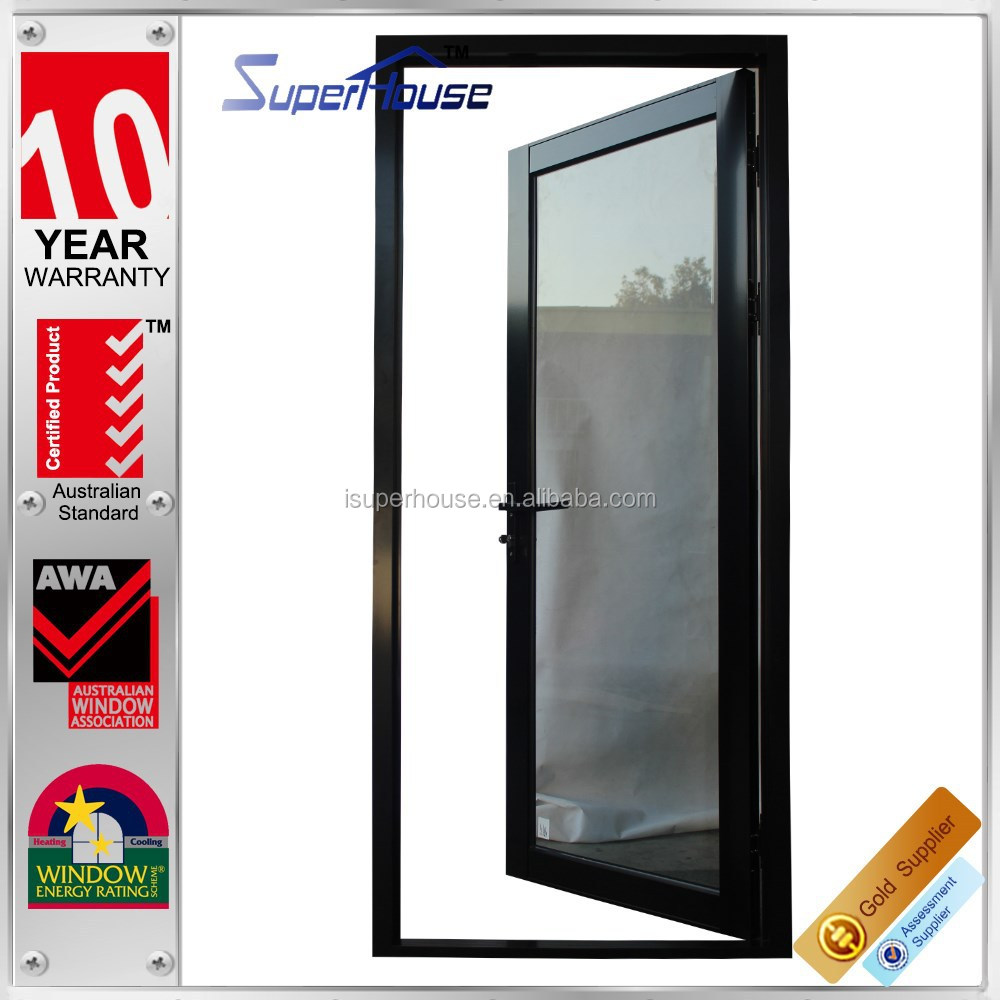 superhouse australia AS2047 standard used commercial entry doors aluminum alloy door