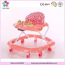 Swivel Wheels Children Play station Pusher Baby Walker With Wheels