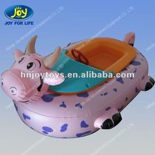 Welcomed Animal Design Inflatable Kiddie Boat