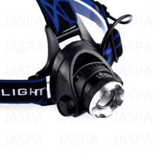 410 Lumens 4AA Zoom 10W XM-L LED Headlamp