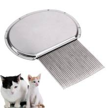 Pet Grooming Stainless Steel Lice Comb