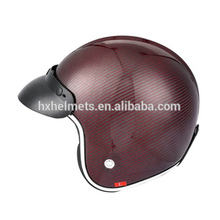 Carbon Fiber Full Face Motorcycle Helmet Cafe Racer Helmet With Ece Certificate