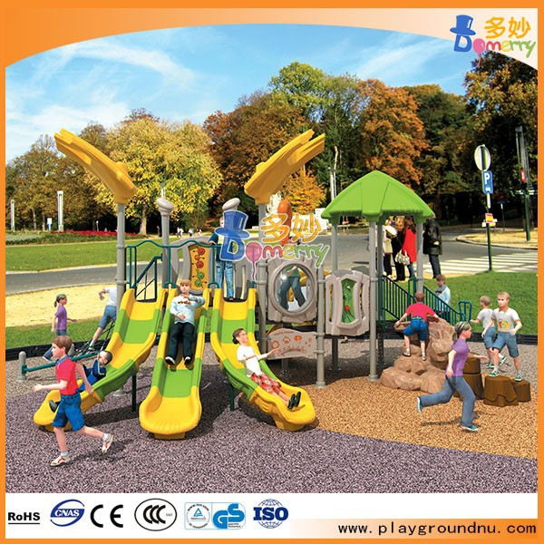 Cheap kids plastic second hand outdoor playground equipment for sale