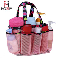 Portable Dorm Mesh Shower Caddy Tote