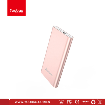 Yoobao Dual Inputs portable Polymer fashion design Power Bank PL8