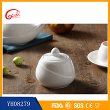White ceramic arabic coffee and tea sets