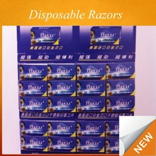 2015 High Quality wholesale stainless steel disposable razor blades CLWK-0155A