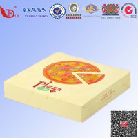 alibaba china custom pizza box with oil-absorbing sheet manufacturer