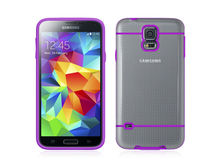 [New Arrival] TPU(colorful)+PC(clear) protect case for Samsung Galaxy S5