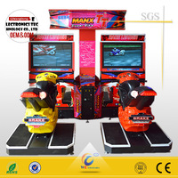 Max TT racing screen machine motorcycle/arcade video game machine for sale
