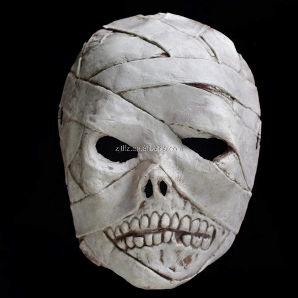 Funny Halloween Decoration Latex Scary Ghost Mask - Buy Funny ...