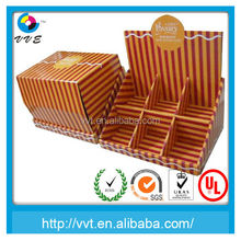 Corrugated paper cardboard Floor display stand for products promotion