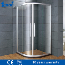 Top design quadrant folding 2 fixed 2 sliding 6mm tempered glass shower room enclosure