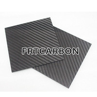 large size carbon fiber solid panel 1000X600mm thickness 1.5mm 2mm 3mm 4mm 5mm