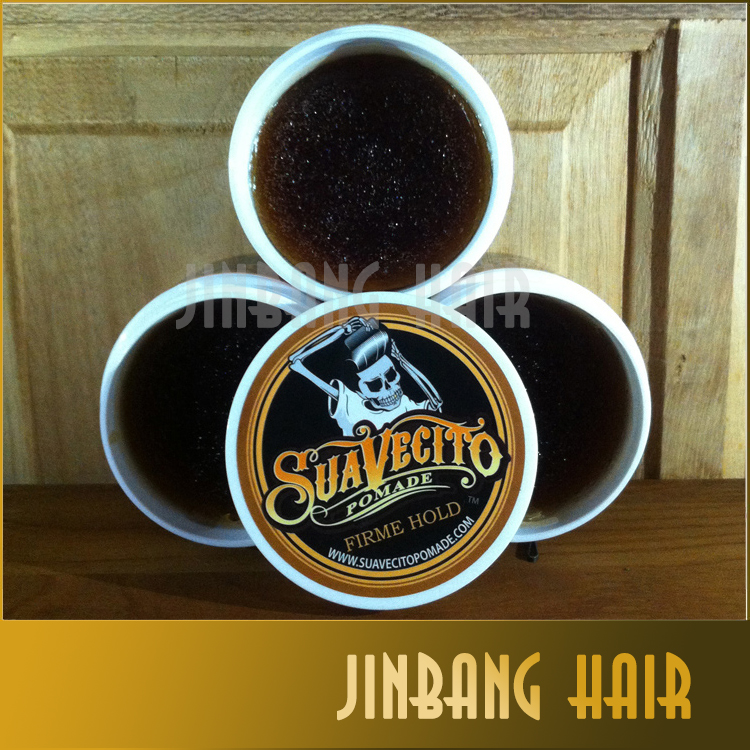 Suavecito Stereotypes wax hair wax hair color cream men hair gel strong modelling finalize the gray/white mud oil no original
