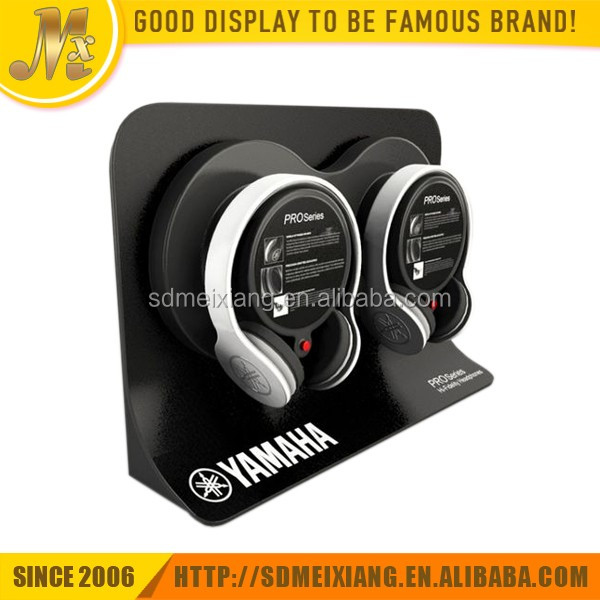 MX-WP051 wood material headphone stand / headphone display stand