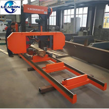 Woodworking Wood Log Band Saw, Electric Portable Sawmill, Log Processing Machinery