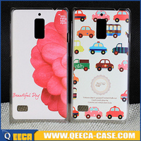 Fancy design printed hard PC back case for huawei ascend g526