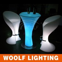 rechargeable LED lights wedding table LED party table LED lighting table