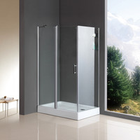 luxury adjustable shower enclosure