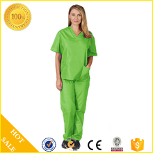 China manufacturer whole sales Medical uniforms scrub sets nurse clothes Discount Medical Women's Lab Coat Workwear Scrubs