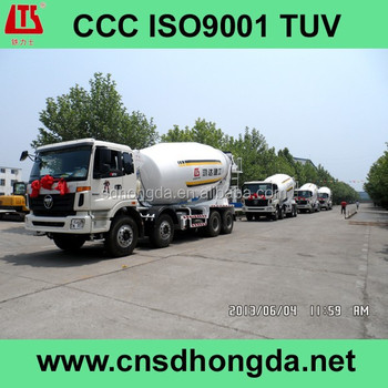 High Efficiency Concrete Mixer Truck HDT5313GJB (16375) with CCC/ISO9001 Certificates on Sale