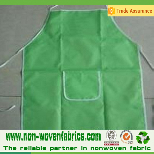 Non-woven Fabric Material and body Type kitchen apron