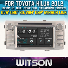 FOR TOYOTA HILUX AUDIO 2012 TOUCH SCREEN STEERING WHEEL CONTROL WIFI 3G RDS