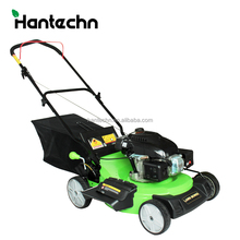 2017 New 140cc 3700w/5hp 57L grass bag manual petrol mower with CE certificate