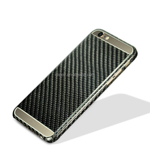 China Supplier Luxury Real Fiber Carbon Cell Phone Cases For iPhone 6 6S