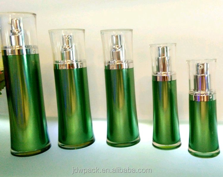 plastic korean style lotion bottle cosmetic packaging