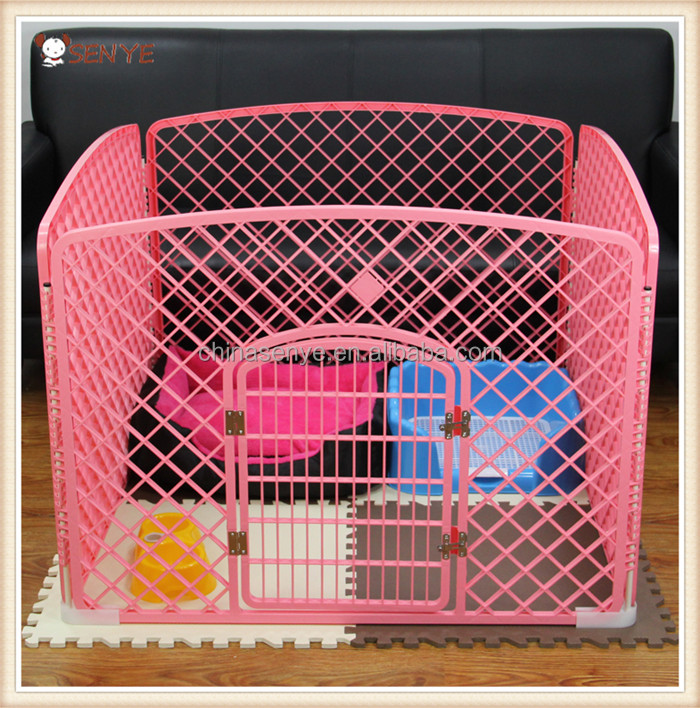 DIY Foldable Outdoor Indoor Plastic Pet Dog Fence Dog Pen