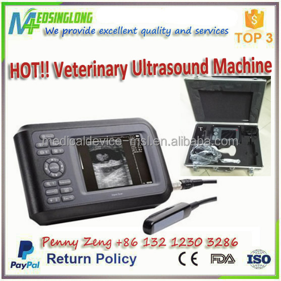 Bovine, Sheep, Cat, Dog Use Cheap Veterinary Ultrasound Machine CE approved/ Cheap Vet Ultra sound Scanner MSLVU04 - R