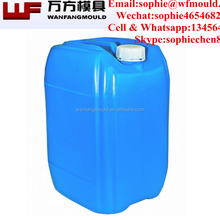 Zhejiang taizhou 20L paint bucket/plastic drum injection mould with good quality plastic drum with lid mold