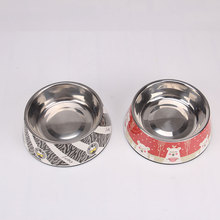 Factory Directly Provide Stainless Steel Anti Skid Bowl/Dog Feeder Bowl