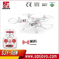 Syma X8W Explorers New RC FPV Helicopter with Wifi Camera RTF SJY-SYMA-X8W